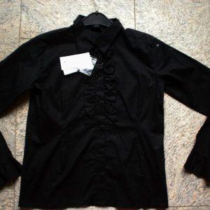 Zwarte blouse dames grote maten