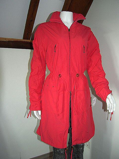 Rode Dames Zomerjas.Merk Mode Online Bijenkorf Rode Zomerjas Knielang Mt 36 38 139 95